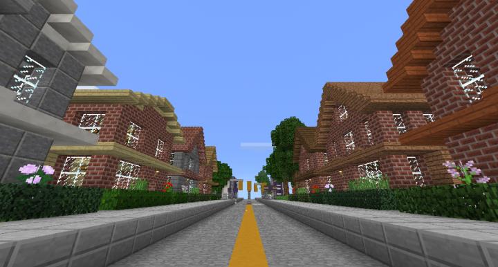 Residential buildings along McGregor Avenue