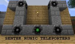 Sentek Runic Teleporters Minecraft Mod