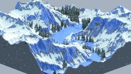 Frozen Valley - Fantasy Terrain - Minecraft Map & Project