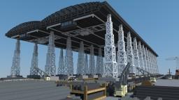 """Shipyard """"Berceau de l'Atlantique""""-shipbuilding company Minecraft"""