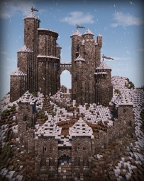 Stonehome | a Medieval/Nordic Castle Minecraft Map & Project