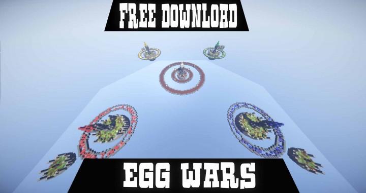 EGG WARS FREE MAP DOWNLOAD Minecraft Project - Minecraft server spielen ohne download