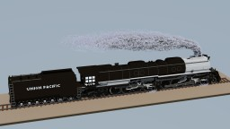 Union Pacific's Big Boy 4014 - Steam Locomotive Minecraft Map & Project
