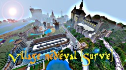 Cité Médiévale Minecraft Map & Project