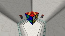 Functional Rubik's Cube 3x3x3 in Minecraft 1.9 Vanilla Minecraft Map & Project