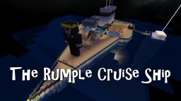 The Rumple Cruise Ship Minecraft Map & Project