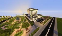 Modern school / école moderne -~-by asunoir-~- Minecraft Map & Project