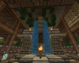 -=- Underground Town-=- Minecraft Map & Project