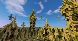 Team aura - Prison mine (Commission) Minecraft Map & Project