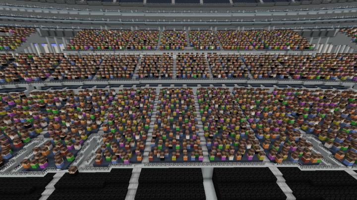 Publico en el estadio