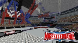 Wrestlemania 32 stage Minecraft Map & Project