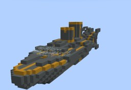 UCS Columbia Testbed Ship (Defunct) Minecraft Map & Project