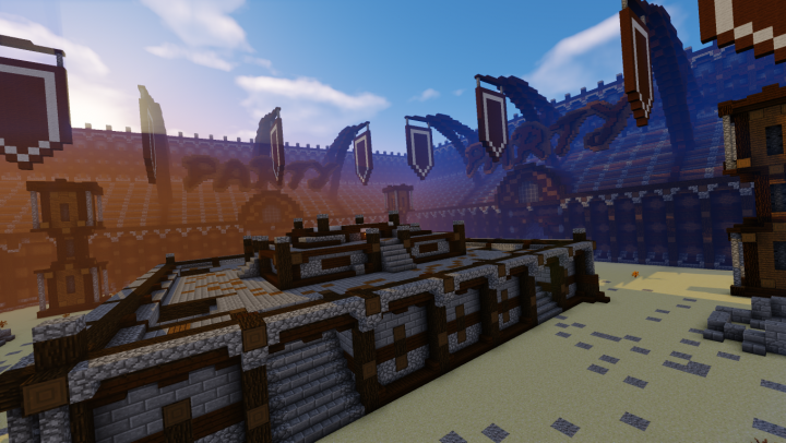 c9a481c289 MinecraftParty.com] King of the Hill Arena Minecraft Project