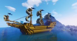 HMS Victory! (British Warship) Minecraft Map & Project
