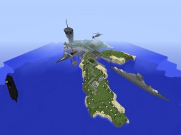 Military Base Minecraft Map & Project