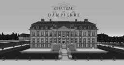 French Chateau De Dampierre Minecraft Map & Project