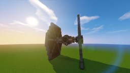 Minecraft Star Wars Imperial TIE Fighter Minecraft Project