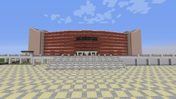 "Scene and Arena ""Armeec"" Junior Eurovision 2015 in Sofia / Bulgaria. Minecraft Map & Project"