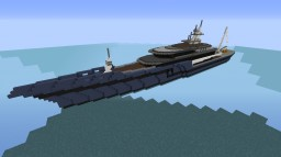 M.S. Legacy Expedition Yacht Minecraft