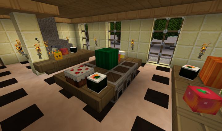 schloss sanssoucci in potsdam bei berlin minecraft project. Black Bedroom Furniture Sets. Home Design Ideas
