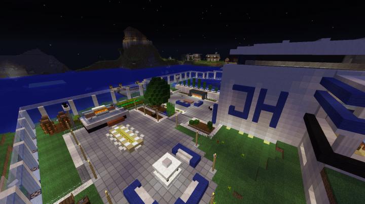 Modern Loft Ocean View House Minecraft Project