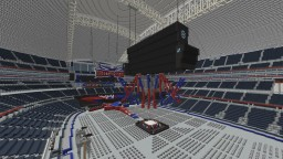 WrestleMania 32 Stage&Arena Minecraft Map & Project