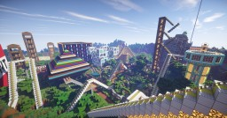 Rollercoaster Paradise  -  Huge theme park! 1.16.3 Minecraft Map & Project