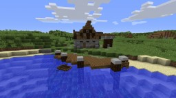 HOUSE OF FISHERMAN Minecraft Map & Project