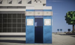Normal blue police box! Minecraft Map & Project