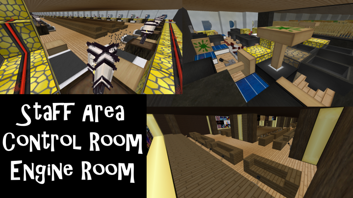 The Rumple Cruise Ship Minecraft Project
