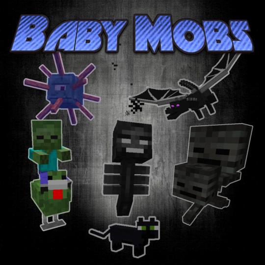 Baby Mobs Mods Minecraft CurseForge