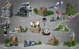 Dennie's Building Bundle (36 Buildings Included) Minecraft