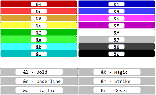 Color Command Generator