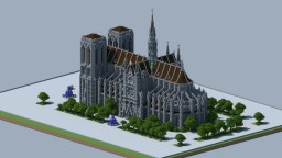 Borealis Cathedral Minecraft Map & Project