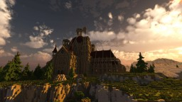 Cresent moon cathedral Minecraft Map & Project