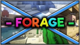 [v1.1] Forage - Find the Button (Played by: Logdotzip, Vikkstar123, Lachlan and ThnxCya) Minecraft Map & Project