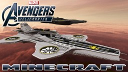 AVENGERS S.H.I.E.L.D. HELICARRIER Minecraft Map & Project