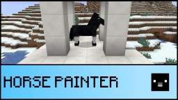 Horse painter in one command! Minecraft