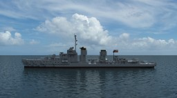 USS Destroyer Mahan