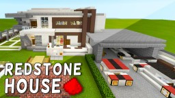 Redstone House in MCPE (+ Bonus Map In The Download) Minecraft Blog