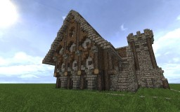 Large Medieval Manor Minecraft Map & Project
