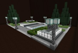 Modern Town Square version 1 Minecraft Map & Project