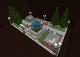 Modern Town Square version 2 Minecraft Map & Project