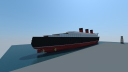 RMS Queen Mary (New Project for 2016) Minecraft
