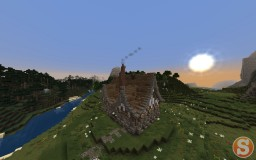 Medieval Country House Minecraft