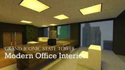 Grand Iconic State Tower (Office Interior Now Released! v. 1.9.2) with Download Minecraft Map & Project