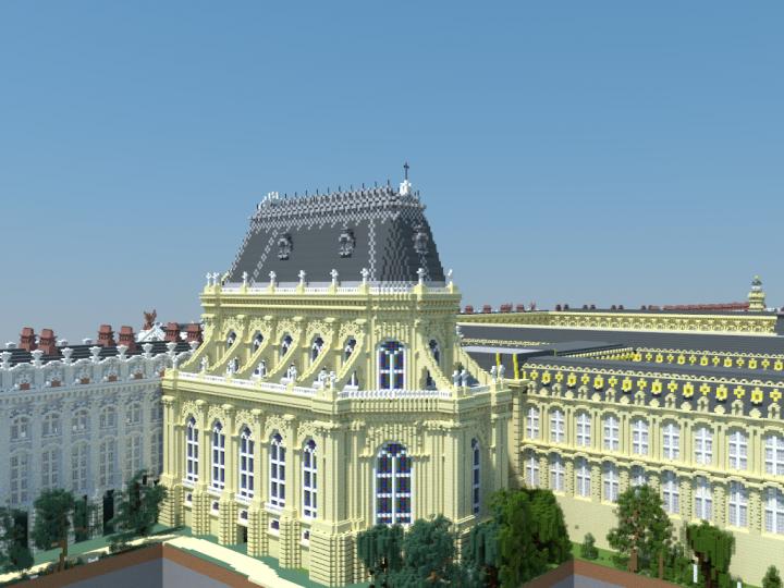 Vue de la Chapelle palatine