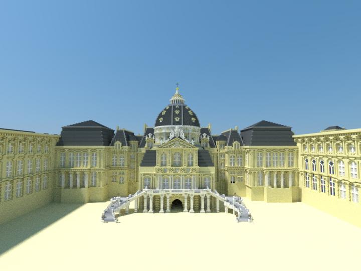 Vue du Dome, l ancien chateau