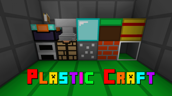 Download Plastic Craft 16x 1.8 Resource Pack Minecraft Texture Pack