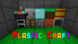 Plastic Craft 16x 1.8 Resource Pack Minecraft